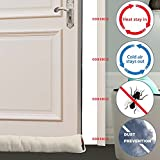MAGZO Upgraded Door Draft Blocker 30inch, Weighted
