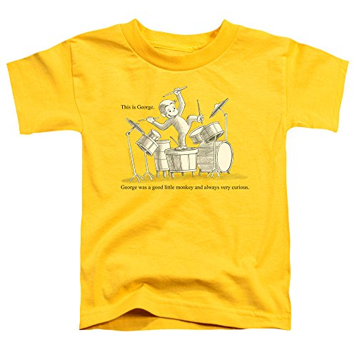 Infant T-shirt Curious Yellow George - Curious George Toddlers This Is George T-Shirt, 2T, Yellow