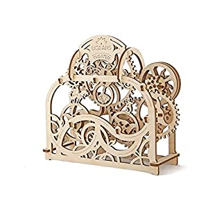 Mechanical Theater Unique Glue Free Eco Friendly Wooden Mechanical Self Assembly Moving Kit