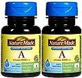 Nature Made Vitamin A 2,400 mcg (8,000 IU), 100 Softgels (Pack of 2)