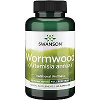Swanson Wormwood GI Gut Health Microbial Balance Support Supplement (Artemisinin) 425 mg 90 Capsules