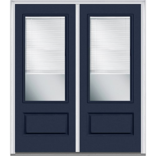 National Door Company Z010460L Fiberglass Smooth Naval, Left -