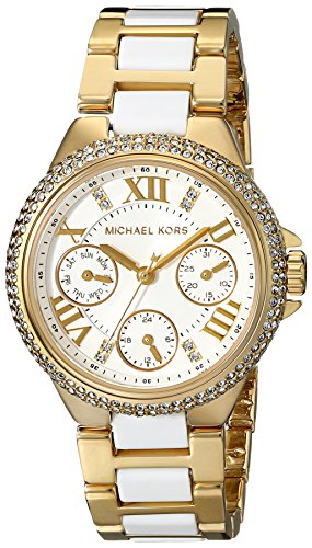 Michael Kors Mini Camille White Dial Quartz Chrono Ladies Watch MK5945 by Michael Kors