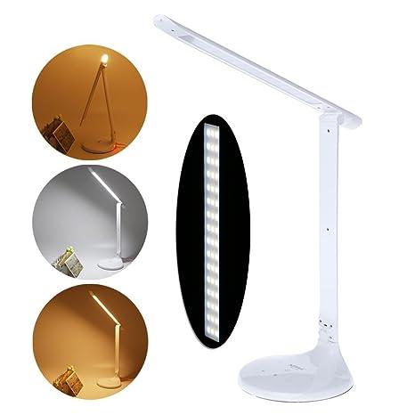qiman diseño plegable LED escritorio lámpara mesa lámpara 3 modo ...