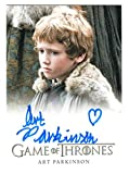 2012 Game of Thrones Season 1 Autograph Art Parkinson as Rickon Stark'Limited'