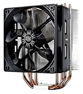 Cooler Master Hyper 212 Evo CPU Cooler w/ 4 Continuous Direct Contact Heatpipes, 120mm PWM Fan, Aluminum Fins, Intel LGA1151, AMD AM4/Ryzen (B005O65JXI) | Amazon price tracker / tracking, Amazon price history charts, Amazon price watches, Amazon price drop alerts