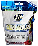 Ronnie Coleman Signature Series, King MASS-XL Super Anabolic Growth Accelerator, Strawberry Milkshake, 15 Pound Review