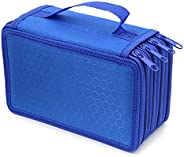 72 Zipper Pencil Case, TopRay 72 Inserting Portable Large Capacity Multi-Layer Pencils Case Holder Pouch Bag C