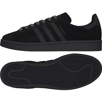 watch c9b97 febb1 Adidas Campus – Sneakers, Man, Black (negbasnegbasftwbla),