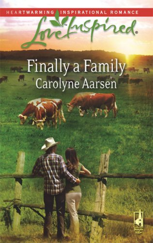 book cover of Finally A Family