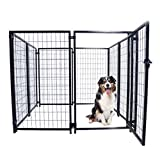 ALEKO DK5X5X4SQ Pet System DIY Box Kennel Dog