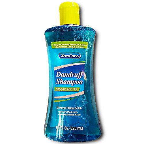XtraCare 3% Salicylic Acid Dandruff Shampoo Compare to Active Ingredients in Selsun Blue Naturals Dandruff Shampoo