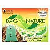 INDACO MBP12310 10 Count 33 gallon Compost Bag
