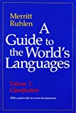 img - for A Guide to the World's Languages: Classification v. 1 book / textbook / text book