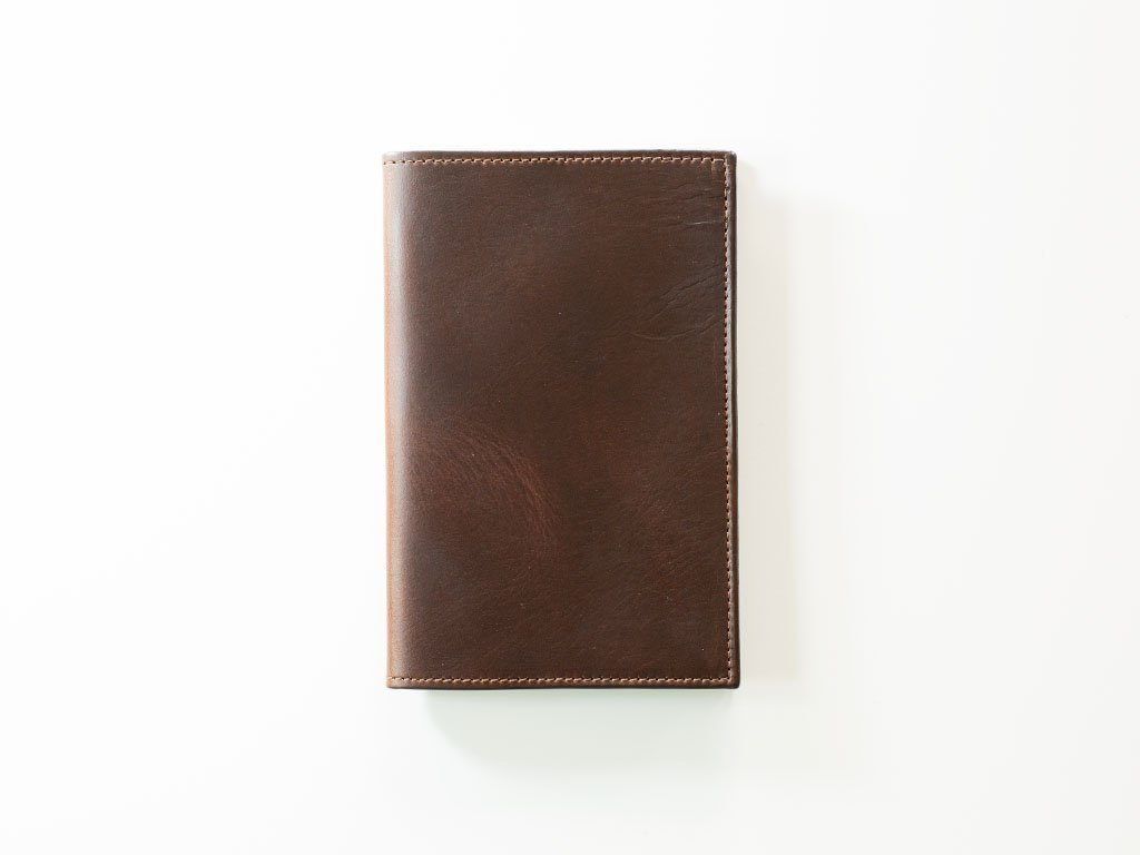 Refillable Leather Journal/Horween Chromexcel Leather Journal with Moleskine Refills/Brown Notebook/Refillable journal/Moleskine Pocket Size 3.5 x 5.5 refills