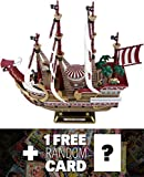 Red Force: ~11'' Bandai Hobby x One Piece Model Ship Collection + 1 FREE Official One Piece Japanese Trading Card Bundle