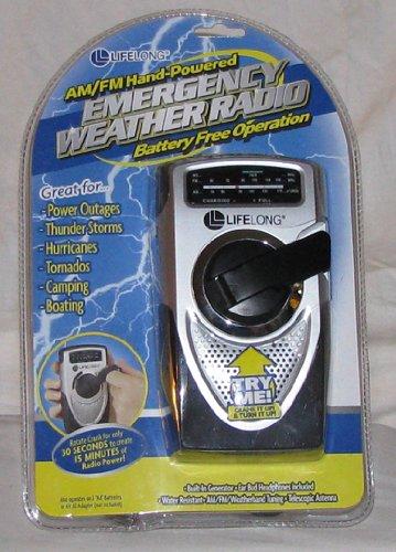 AM/FM Hand-Powered Emergency Weather Radio