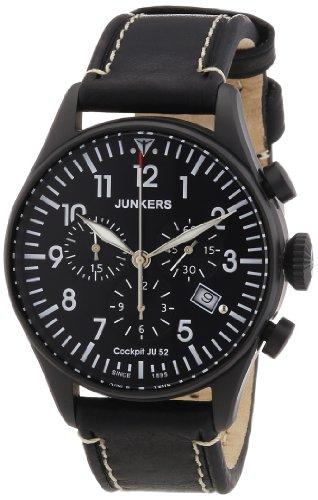 JU52 Cockpit  Men's watch PVD-plated - Junkers 6182-2