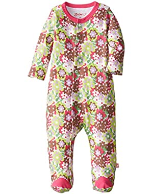 Baby-Girls Newborn Primrose Footie