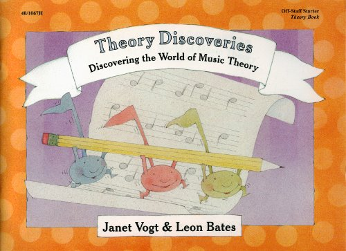 Discovering the World of Music Off-Staff Starter Theory Book (Piano Method) 40/1067H