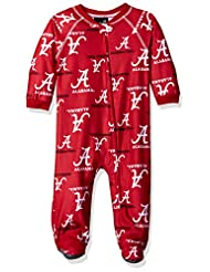 NCAA Alabama Crimson Tide Infant Boys Sleepwear All Over Prin...