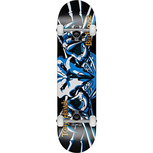 (Birdhouse Skateboards Beginner Hawk Falcon III Blue Complete Skateboard - 7.75
