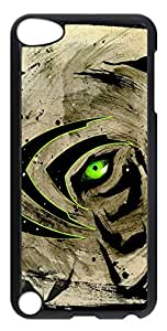 iPod Touch 5 Cases & Covers - Creative Green Eyes Custom PC Soft Case Cover Protector for iPod Touch 5 - Transparent