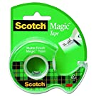 "3M Magic Tape with Dispenser, 3/4"" x 300"""