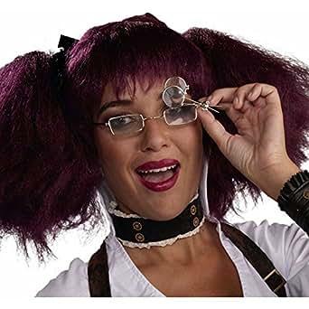 Steampunk para gafas de accesorios de bicicleta monóculo disfraz infantil de carcasa rígida