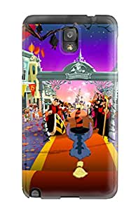 High End Case Cover Protector For Galaxy Note 3 Disney