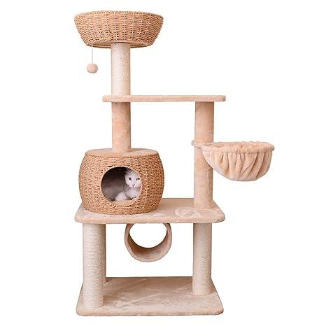 Ccgdgft Gato Toys Tower Condo Hamaca Rascador Casa Centro de ...