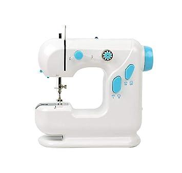 GSKTY Máquina de coser Casa multifunción mini escritorio miniatura máquina de coser eléctrica 24 * 11 * 22. 5 cm: Amazon.es: Hogar