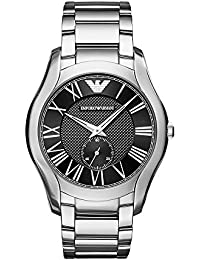 Men's 'Dress' Quartz Stainless Steel Casual Watch, Color:Silver-Toned (Model: AR11086)