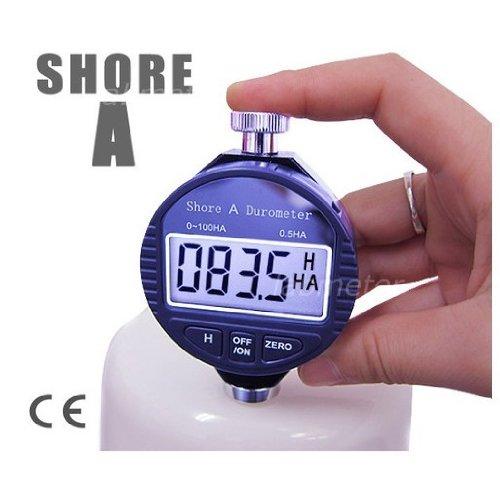 China Digital Shore A Hardness Meter Durometer 0~100HA Pl...