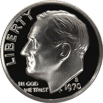 Gem Proof U.S 1970-S Roosevelt Dime Coin