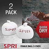 SPRI Chalk Ball   2 Pack   Squeezable Hand Chalk