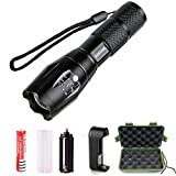 Best Torch Lights - LED Tactical Flashlight,QIANXIANG 900 Lumen XML-T6 Portable Outdoor Review