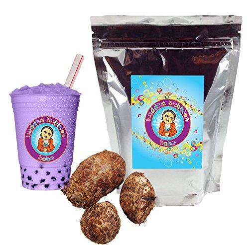 Taro Boba/Bubble Tea Powder By Buddha Bubbles Boba 1 Pound (16 Ounces) | (453 Grams)