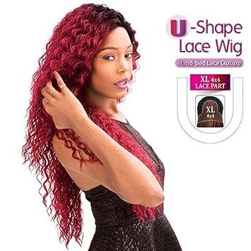 Amazon.com: New Born Free sintético Lace Frente Peluca Magic ...
