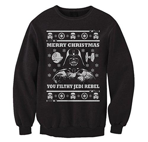 Star Wars Parody Vader Ugly Christmas Sweater Sweatshirt