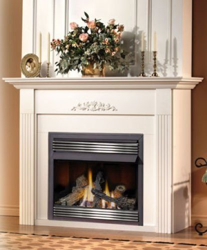 pleasant hearth propane fireplace - 8