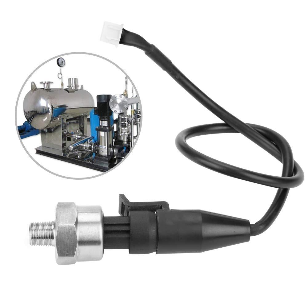 1Pz 1 30PSI 8Npt Sensore Di Pressione In Acciaio Inossidabile Per Olio Combustibile Aria Acqua Trasduttore Di Pressione