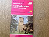 Landranger Maps: Middlesbrough and Darlington Area Sheet 93 (OS Landranger Map)