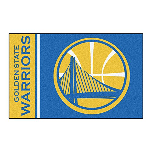 Fanmats 17911 NBA Golden State Warriors Uniform Inspired Starter Rug,Team Color (State Starter Rug)