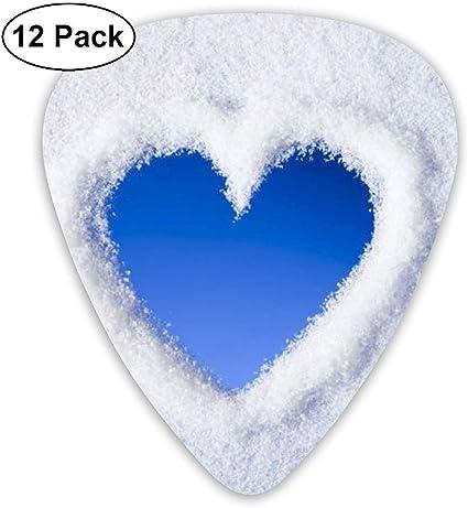Impresionante Winter Love Valentine Day Púas de guitarra 12 púas ...