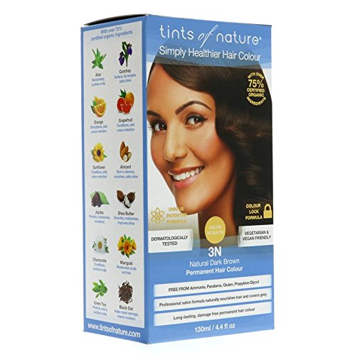 Tints of Nature - (3N) Natural Dark Brown, 4 oz ( Multi-Pack) by Tints of Nature