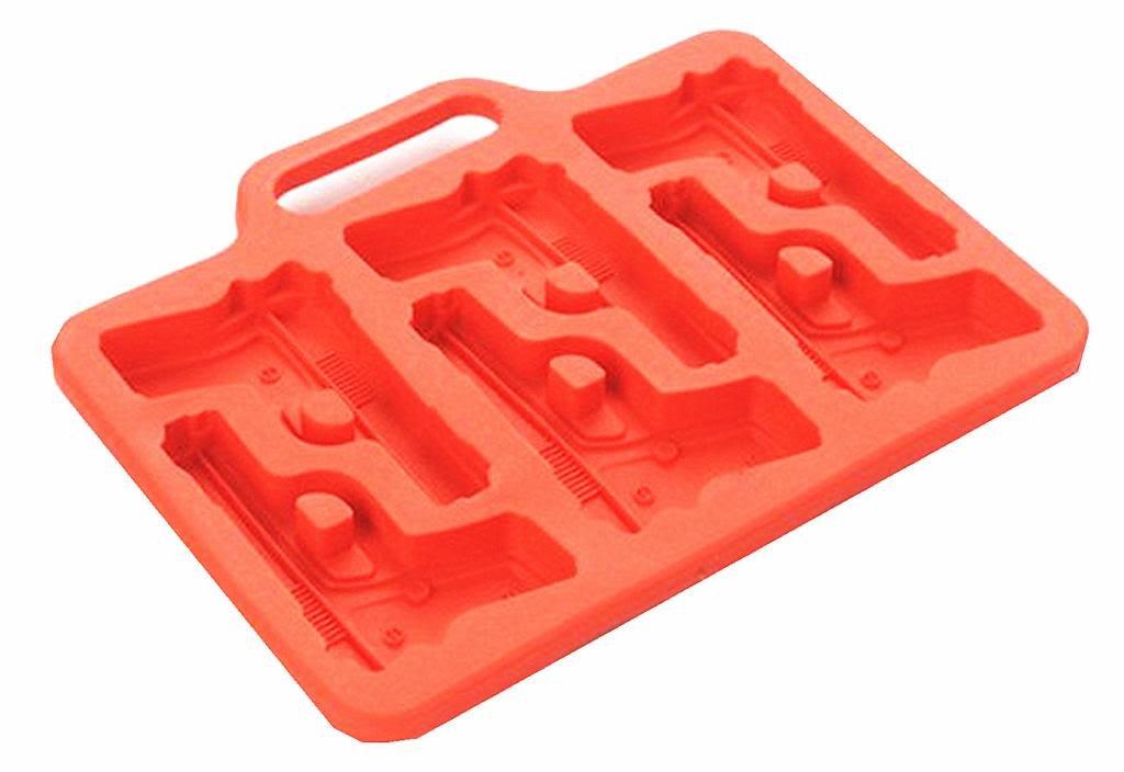 Compra Pistola de silicona huntgold Caso en forma de cubo de hielo ...