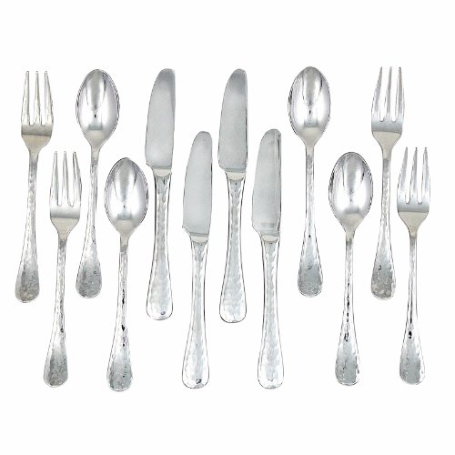(Ginkgo International Lafayette Stainless Steel 12-Piece Stainless Steel Accessory Set)