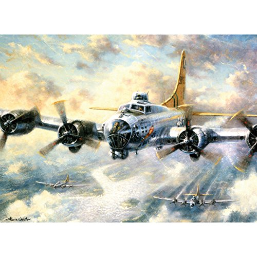 Royal & Langnickel Painting by Numbers Adult Large Art Activity Kit, Flying Fortress