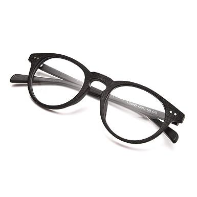 8f28758e484 Rafbenson Olde Worlde Like Wood for Men and Women Glasses for Reading  (Black Wood